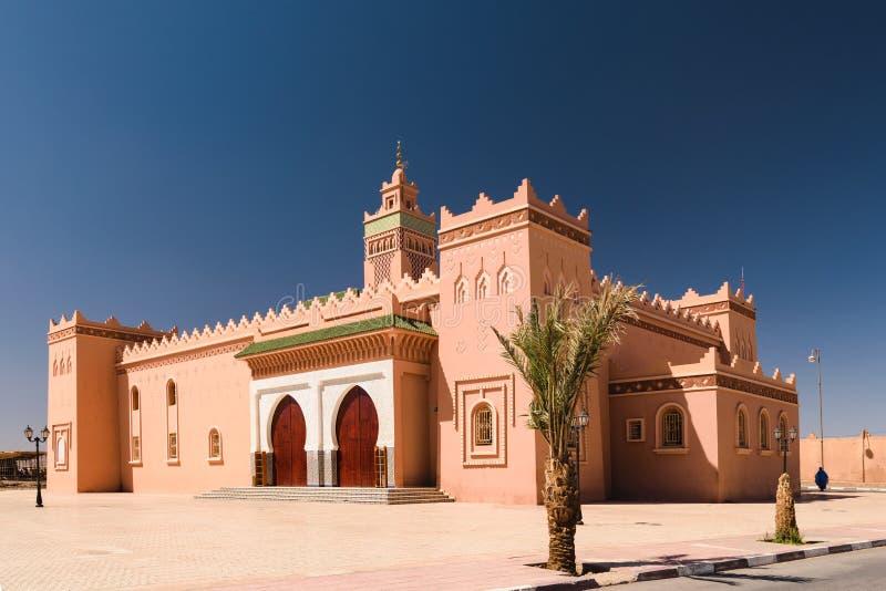 Moské Zagora, Marocko arkivbild