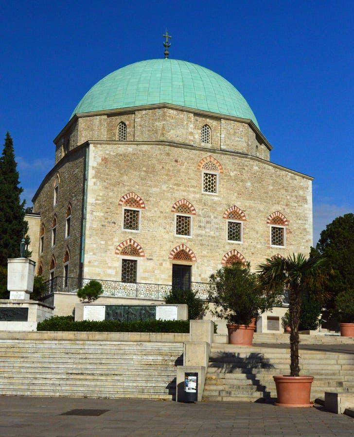 Moskékyrkan 3, Pecs, Ungern royaltyfri fotografi