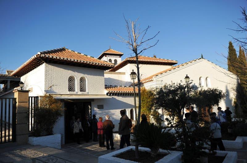 Moskén av Granada, Spanien fotografering för bildbyråer
