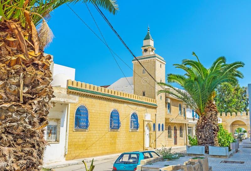 Moskén i Monastir Medina royaltyfri foto