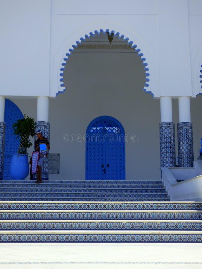Moskén Mohamed V av Fnideq i Marocko arkivfoton