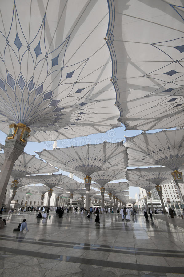 moskénabawi royaltyfri bild