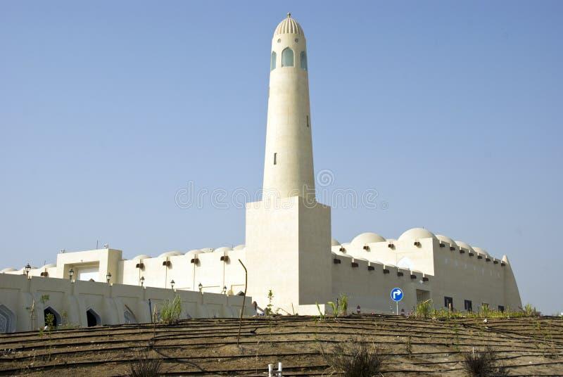 moskéqatar tillstånd arkivbilder