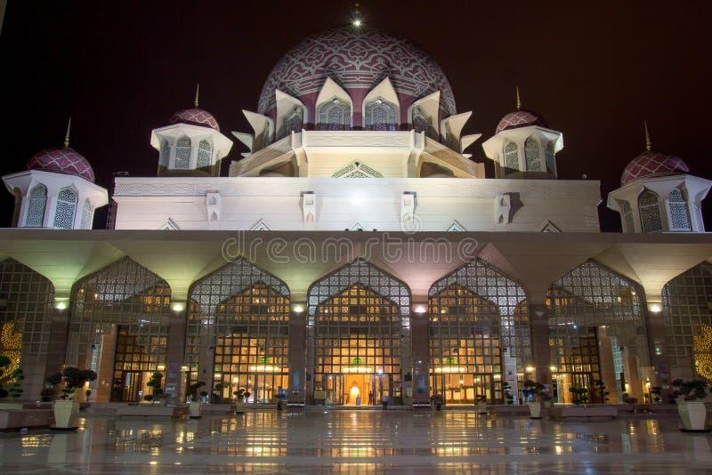 Moskésikt under på natt fotografering för bildbyråer