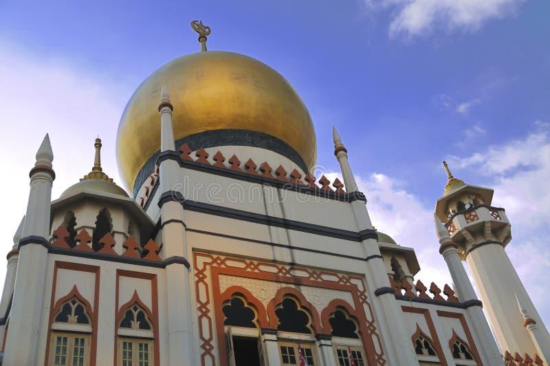 moskésingapore sultan royaltyfria bilder
