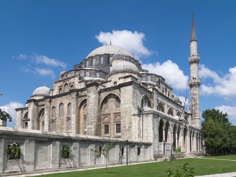 moskésuleymaniye royaltyfria foton