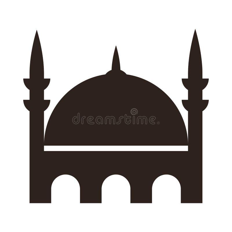 Moskésymbol royaltyfri illustrationer