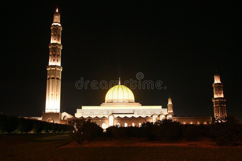 Mosk in der Muskatellertraube, Sultanat von Oman lizenzfreie stockfotos