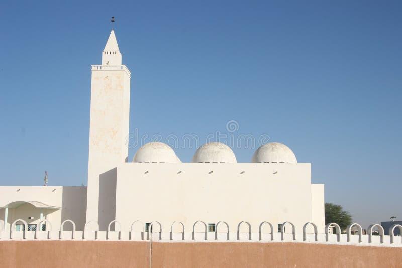 Mosk in Nouakchott, Mauretanien stockbild