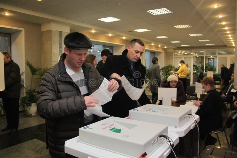 Moskau 4. Dezember stockbilder