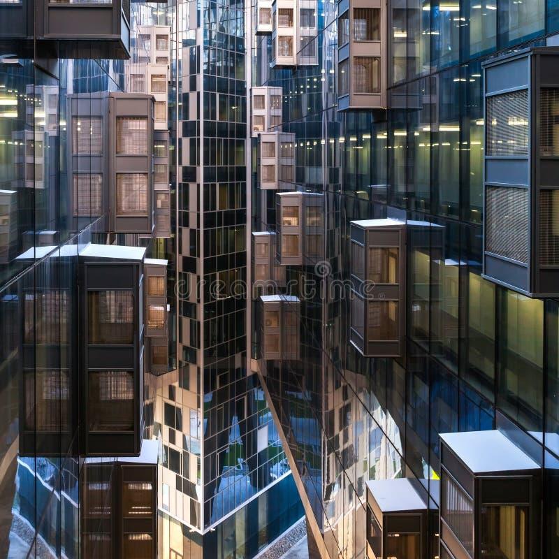 Moskau-Architektur lizenzfreies stockbild
