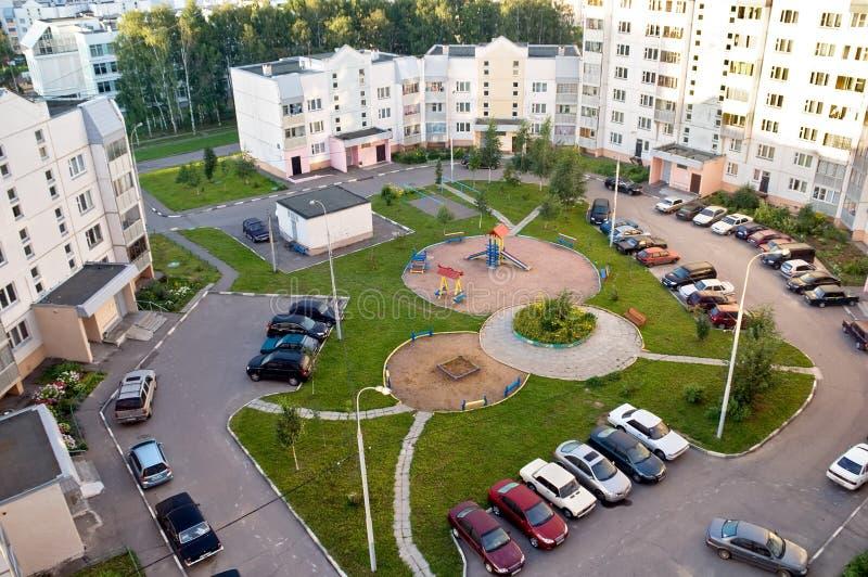 Moskau-Grundbesitz lizenzfreie stockfotografie