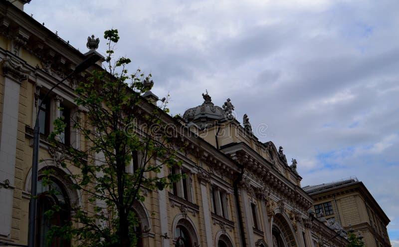 Moskau ist eine bunte Stadt stockfotos