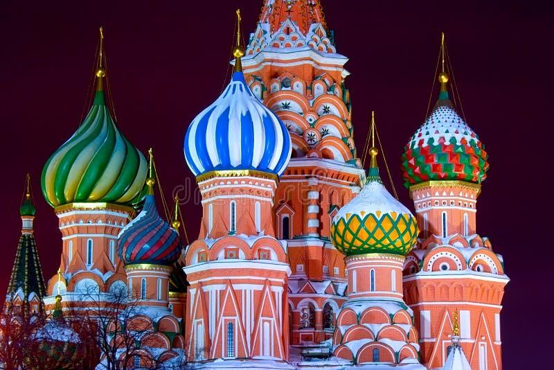 Moskau-Kathedrale stockbild