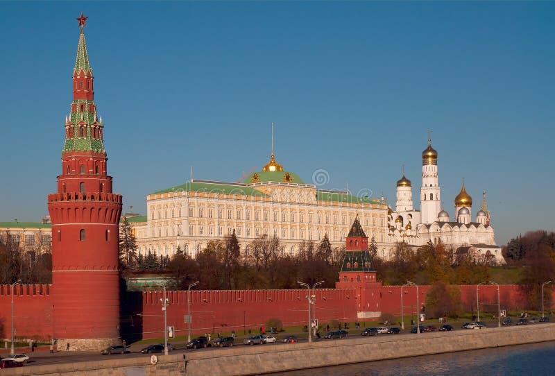 Moskau Kremlin. stockfotos