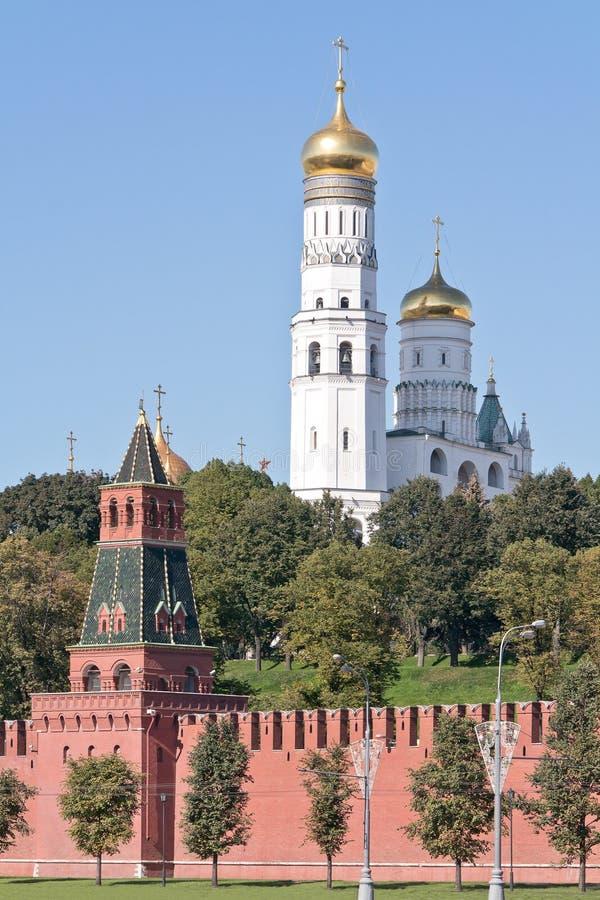 moskau kremlin cityscape stockfoto