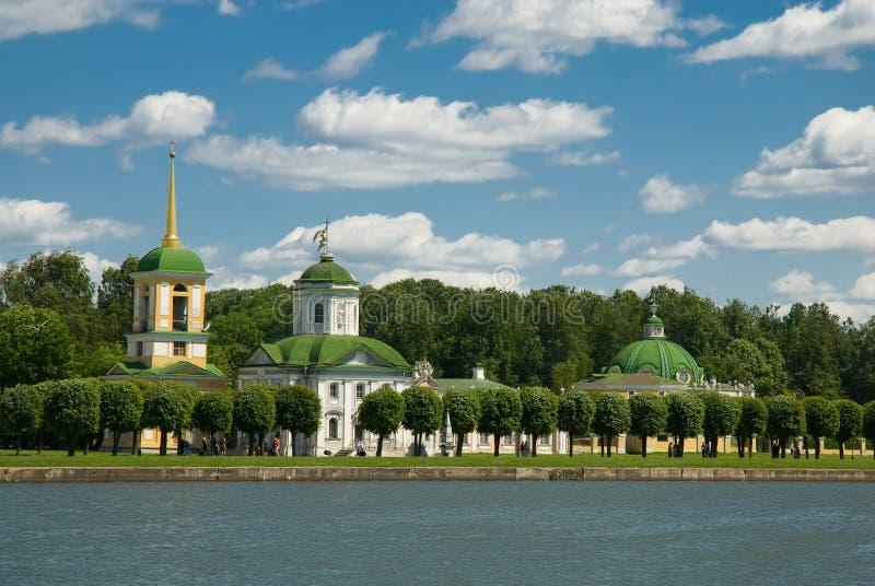 Moskau. Kuskovo stockfotos