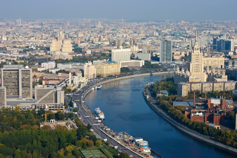Moskau-Landschaft stockfotos