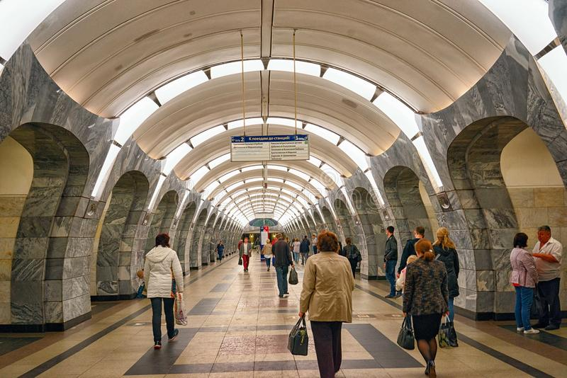 Moskau-Metro stockbild