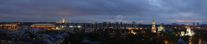 Moskau-Nacht Lizenzfreie Stockbilder