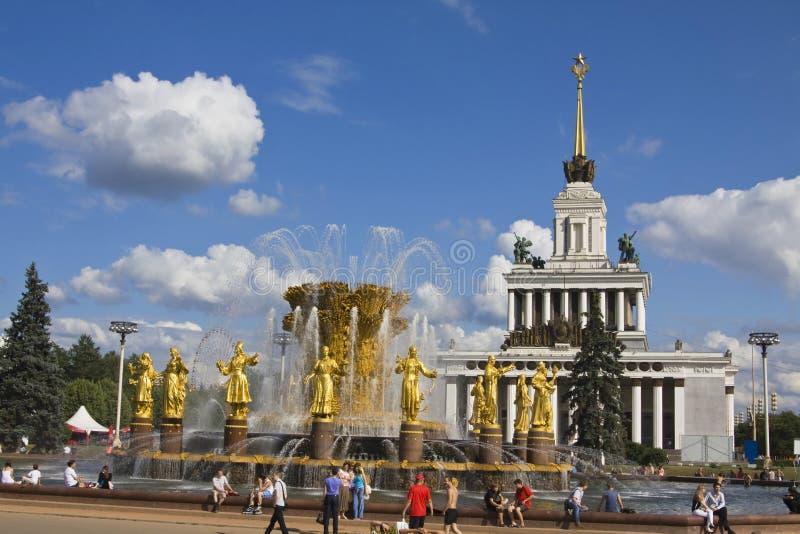 Moskau, nationale Ausstellungsmitte lizenzfreie stockfotografie