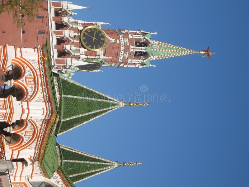 Moskau, Russland, Kremlin-Kontrollturm lizenzfreie stockfotos