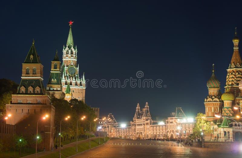 Moskau, Russland, ROTES QUADRAT stockbilder