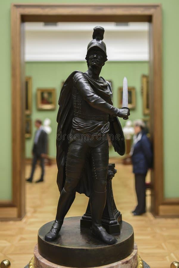 Moskau, Russland, am 30. September 2016: Tretjakow-Galeriemuseum int lizenzfreies stockfoto