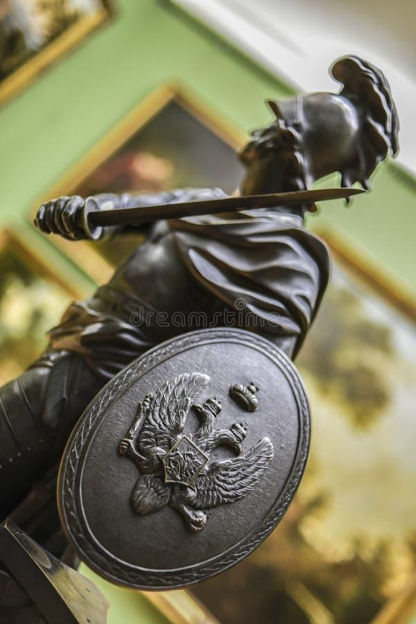 Moskau, Russland, am 30. September 2016: Tretjakow-Galeriemuseum int lizenzfreies stockbild