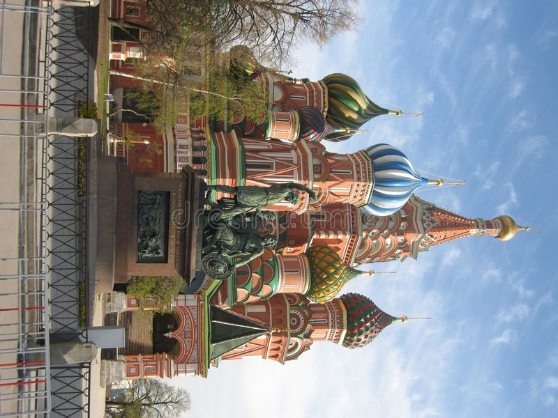 Moskau, Russland, St.Basil (Pokrovskiy) Kathedrale lizenzfreies stockfoto