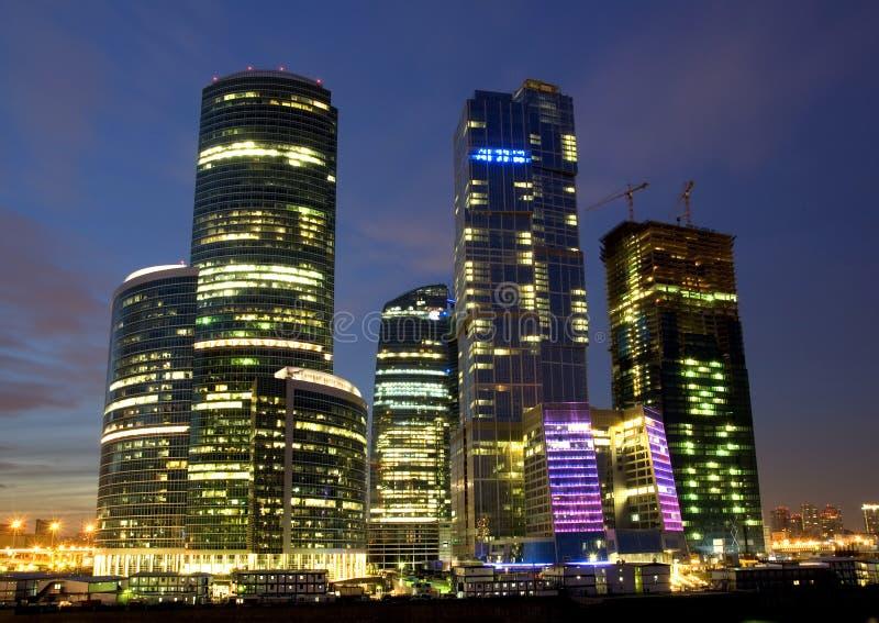 Moskau-Stadt lizenzfreie stockfotos