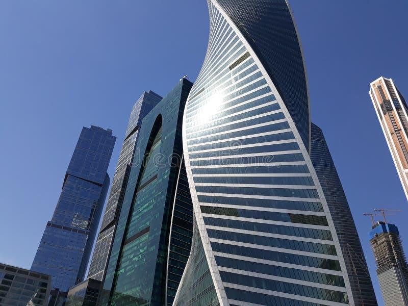 Moskau-Stadthaus stockfotografie