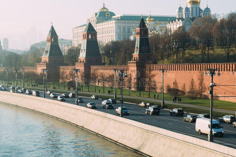 Moskau-Straße lizenzfreie stockfotos