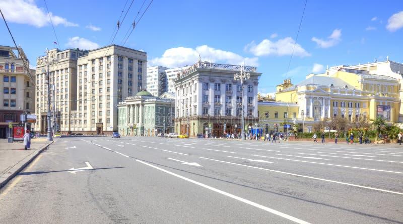 moskau Straßen-Theater- Proyezd lizenzfreie stockfotografie