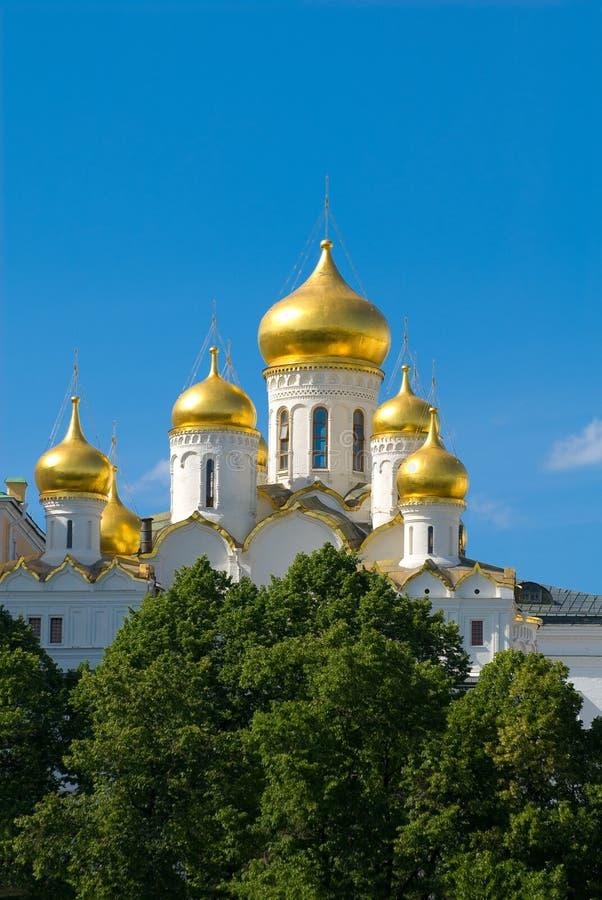 Moskau. Tempel stockfotos