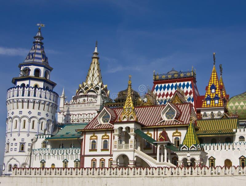 Moskau, vernisage Izmaylovo lizenzfreies stockbild