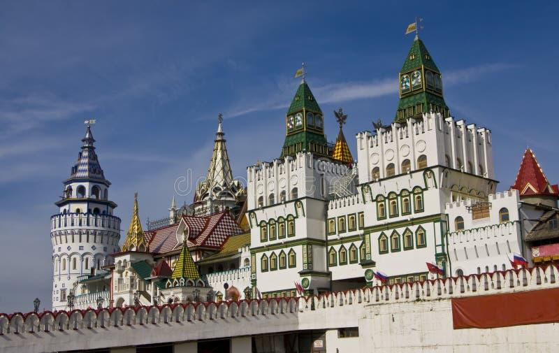Moskau, vernisage Izmaylovo lizenzfreie stockfotos