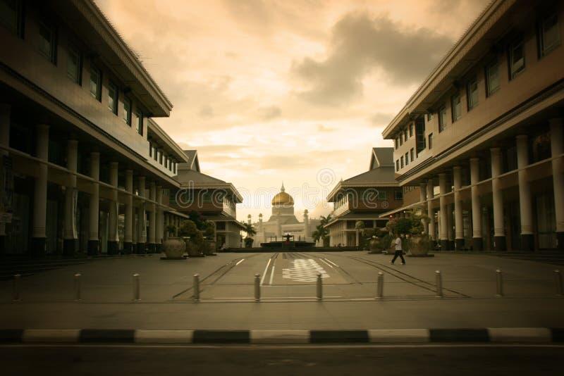 Moskee 02 van Brunei royalty-vrije stock foto