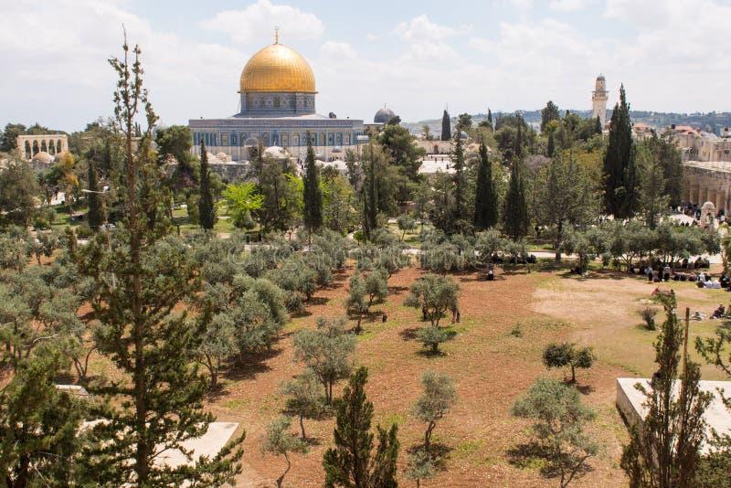 Moskee al-Aqsa stock foto