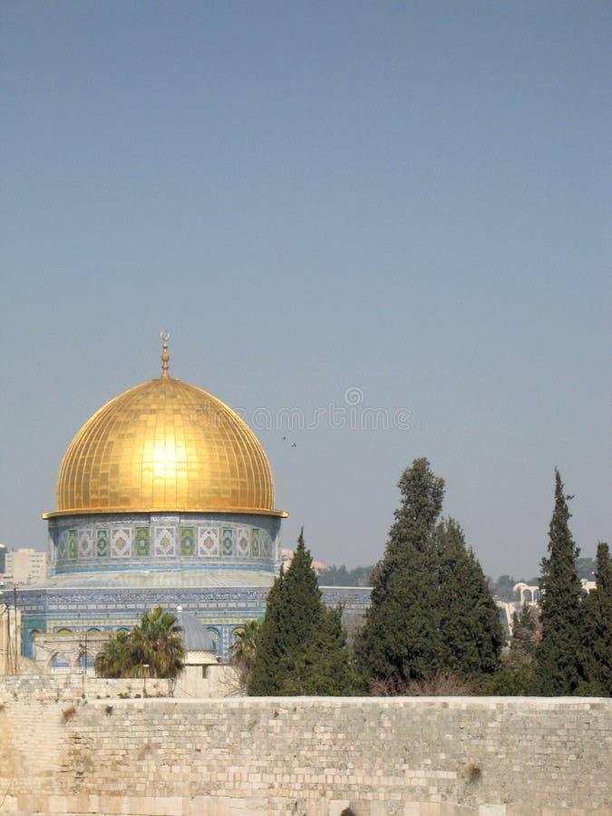 Moskee al-Aqsa stock afbeelding
