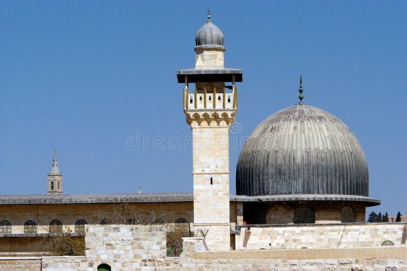 Moskee al-Aqsa stock foto's