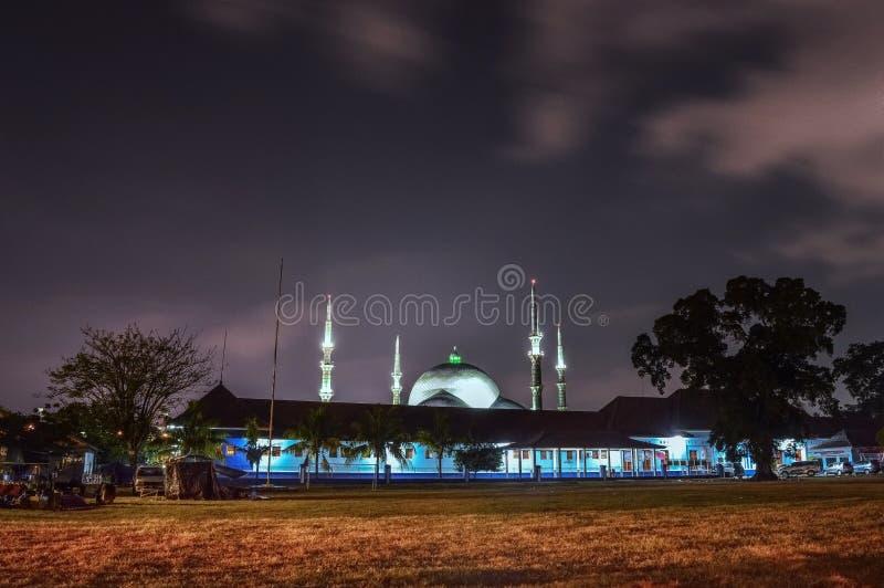 Moskee in al& x27; azom tangerang stock foto