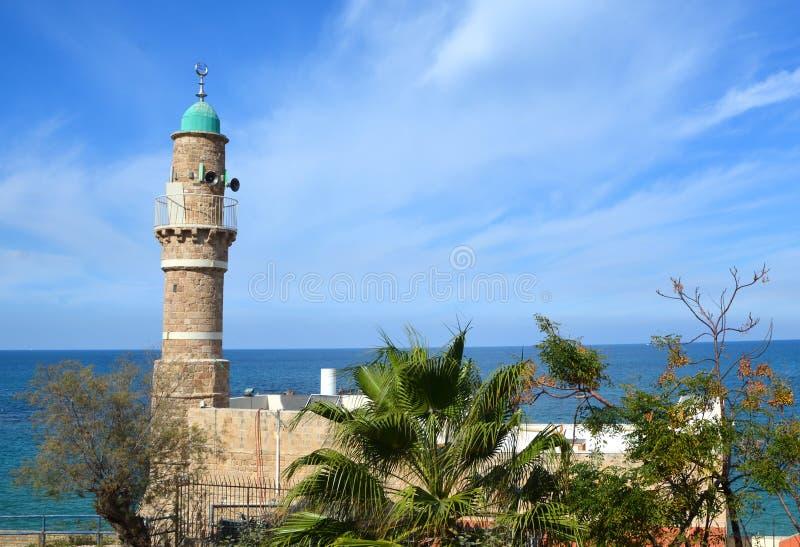 Moskee al-Bahr stock afbeelding
