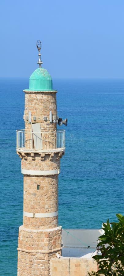 Moskee al-Bahr stock afbeeldingen