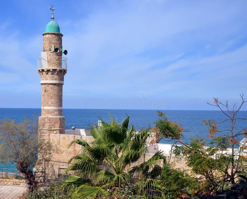 Moskee al-Bahr royalty-vrije stock afbeelding