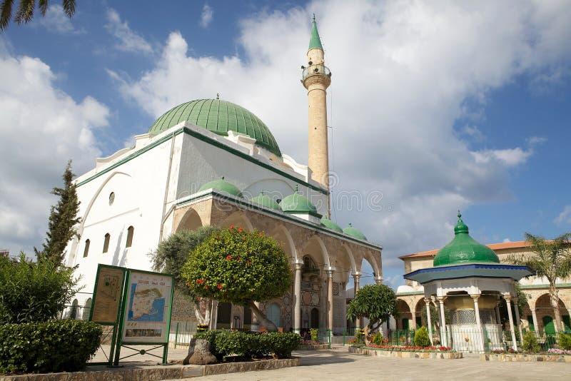 Moskee al-Jazzar stock foto's