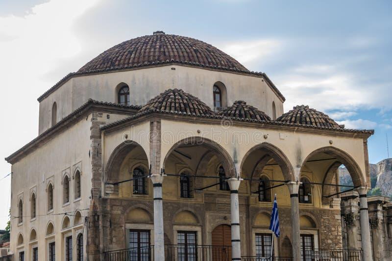Moskee in Athene royalty-vrije stock afbeeldingen