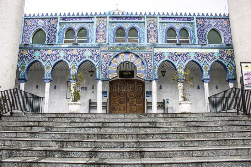 Moskee in Curitiba royalty-vrije stock afbeeldingen