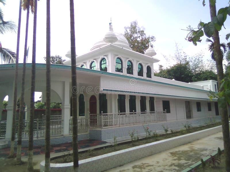 moskee in de Rivier stock foto's