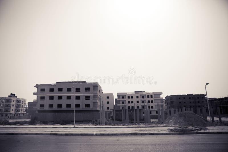 MOSKEE in Egypte stock afbeeldingen